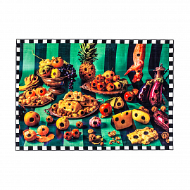 "Ковер Seletti Rectangular Rug ""Food with Holes"""