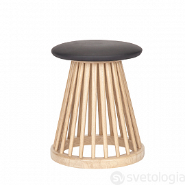 Стул Tom Dixon Fan Stool, натуральный