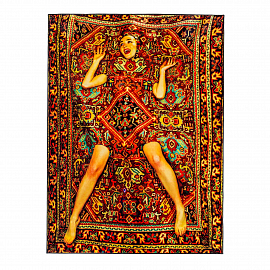 "Ковер Seletti Rectangular Rug ""Lady on Carpet"""